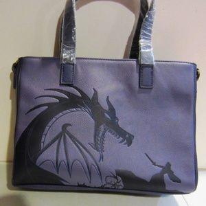 Disney Maleficent Dragon satchel purse NWT